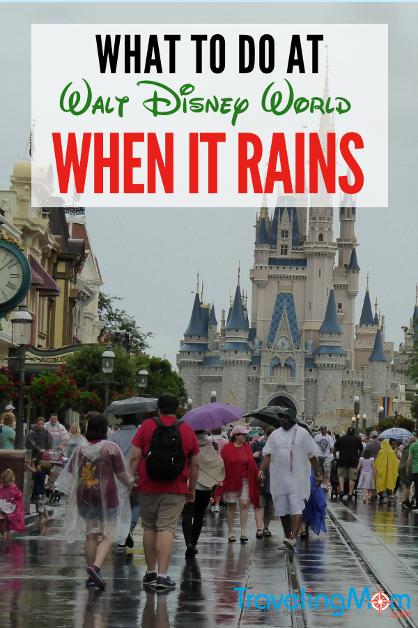 Don't miss these tips for what to do at disney when it rains.