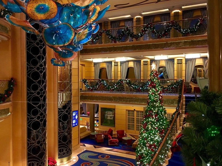 Cruise ships are even more festive during the holidays making it a wonderful gift.