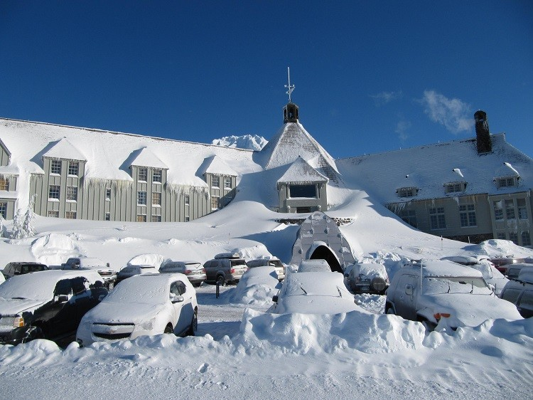 Timberline Lodge is a picture perfect gift of travel destination.
