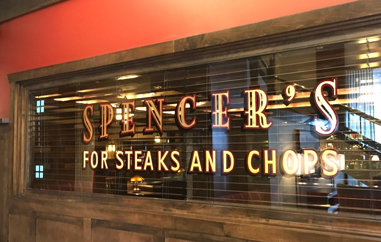 Spencers, the fine dining steakhouse at Hilton Salt Lake City Center, serves some of the best steaks anywhere.