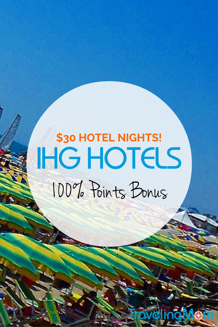 Learn why the 100% IHG Hotels Points Bonus is my favorite sale of the year.