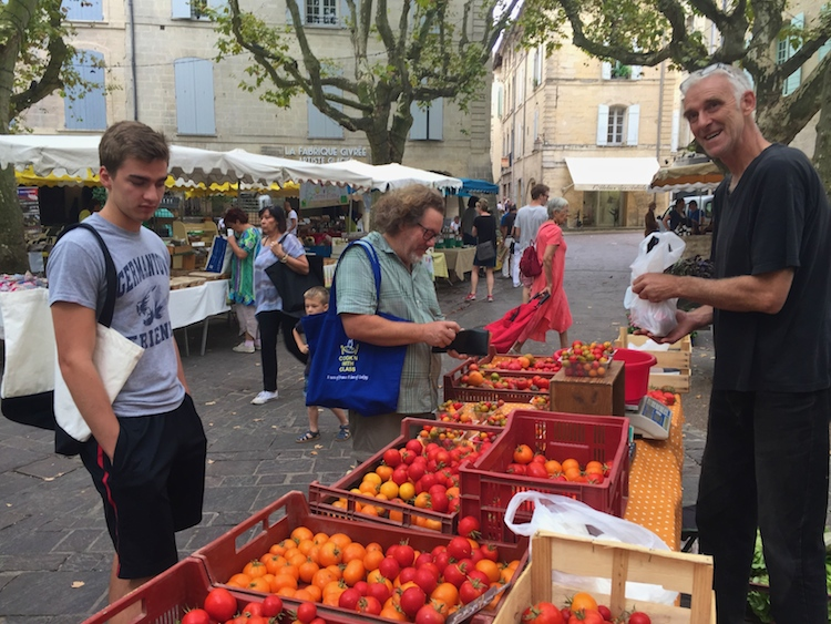 One day in Uzes, France, my son and I took a plunge into the culture by taking a French cooking class with an experienced French chef. Read on and devour!