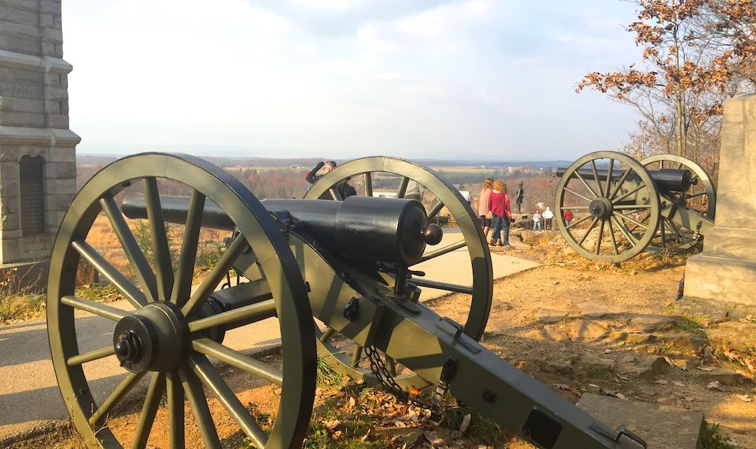 Gettysburg, Pennsylvania is a good weekend getaway