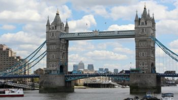 Take the London Tube to Tower Bridge.