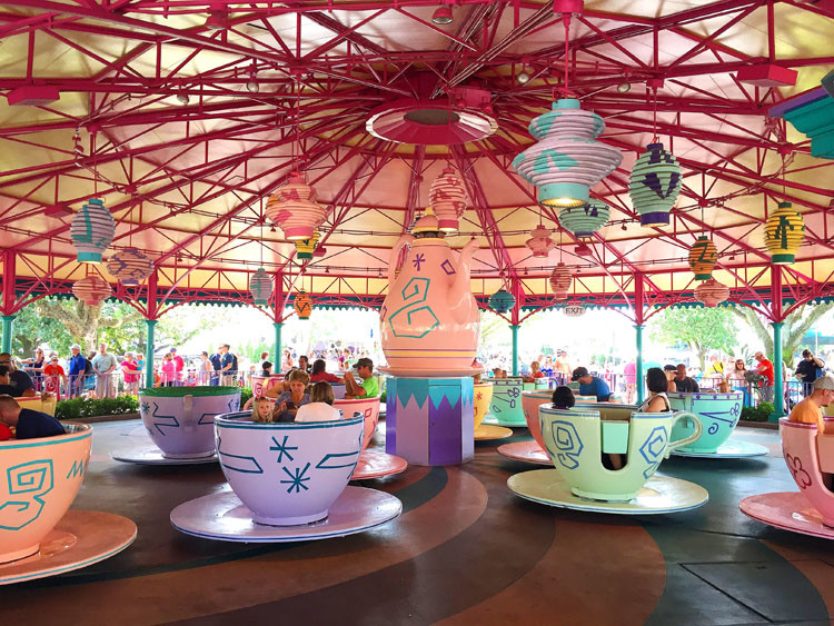 One Of The Best Walt Disney World Attractions For Kids Under 5 Is Mad Tea