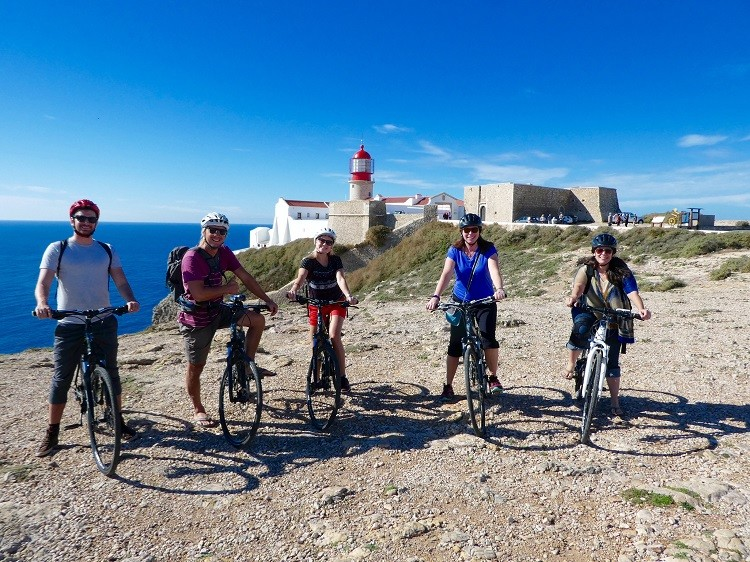 Martinhal Sagres can arrange bike tours by Algarve Bike Holidays out to Cape St Vincent.