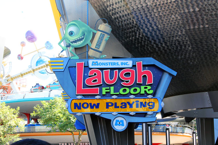 Monsters, Inc. Laugh Floor is a great show for kids 5 and under.