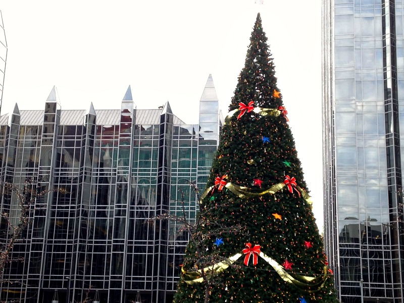 PPG Place Pittsburgh holiday travel