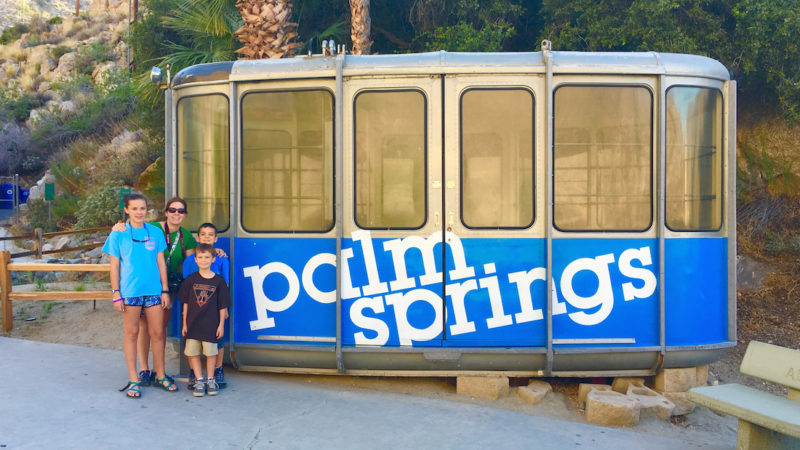 Palm Springs Aerial Tram, mountain hikes for kids, what to do in Palm Springs with kids,