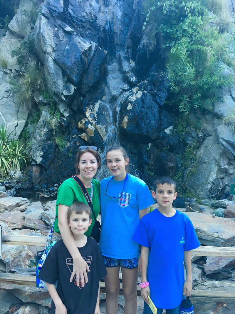 national parks sites of California, Palm Springs for kids,