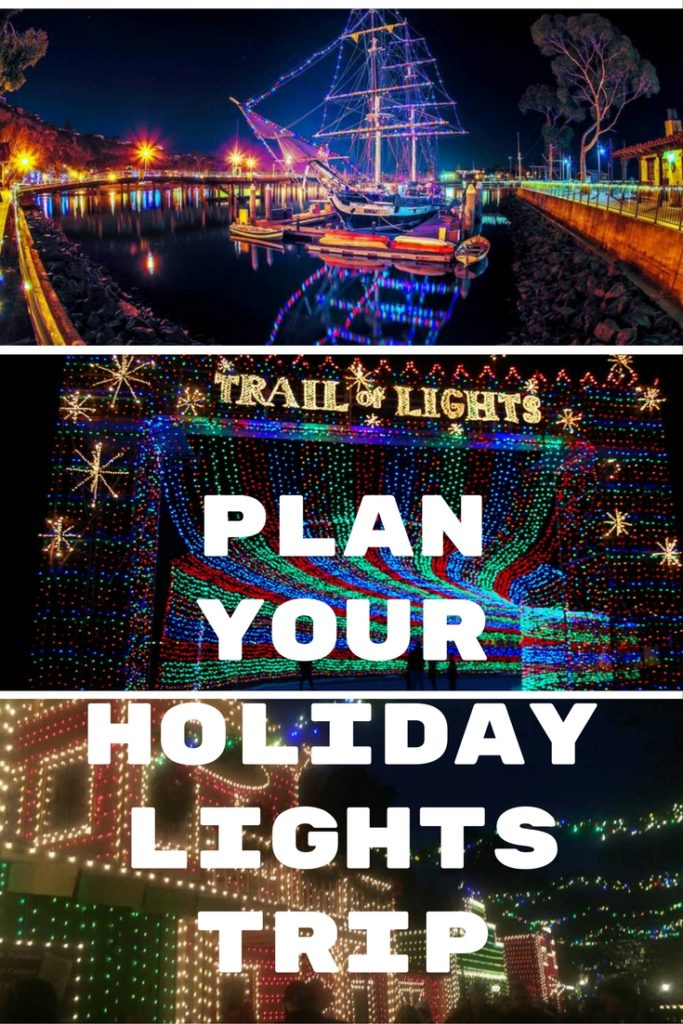 Holiday lights are the perfect family outing this holiday season.