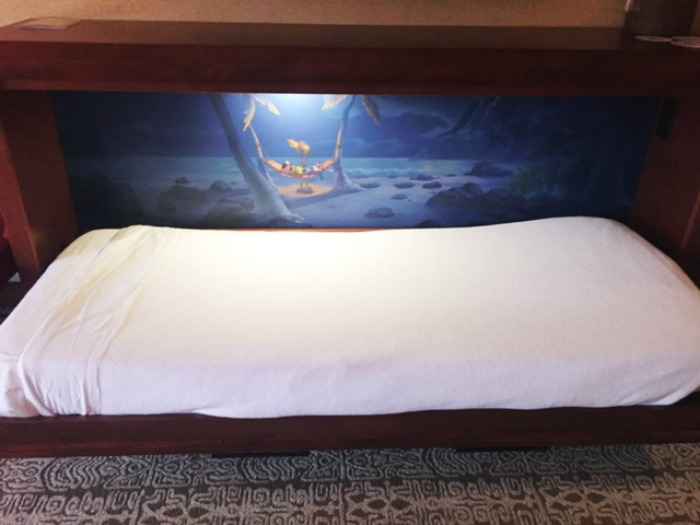 Murphy Bed at Disney's Polynesian Villas Deluxe Studio