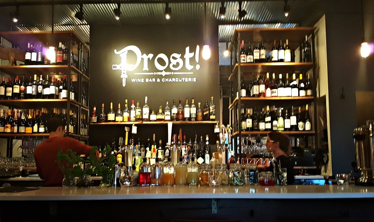 Prost Wine Bar in Frankenmuth