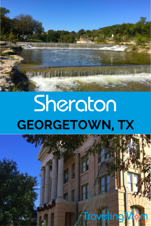 This brand new hotel just north of Austin Texas makes for a glorious getaway for this harried Traveling Mom. Read on for all the details about this brand new Sheraton. And don't forget to pack your swim suit!