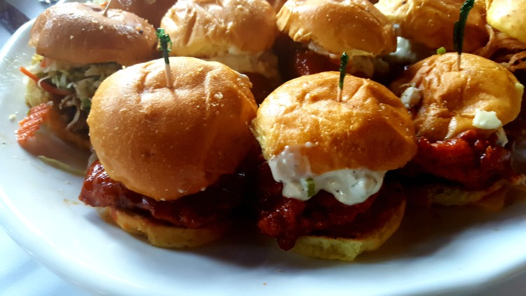 Sliders at the Frankenmuth Brewery