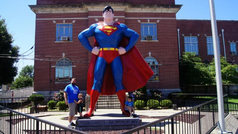 Look, Up In The Sky: Visiting the Super Museum in Metropolis, IL