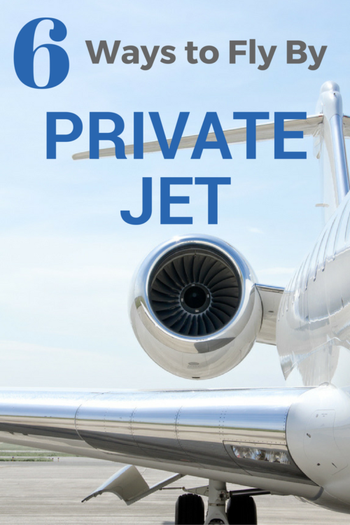 6 ways to fly by private jet