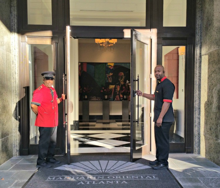 The staff is waiting to welcome you to the Mandarin Oriental, Atlanta.