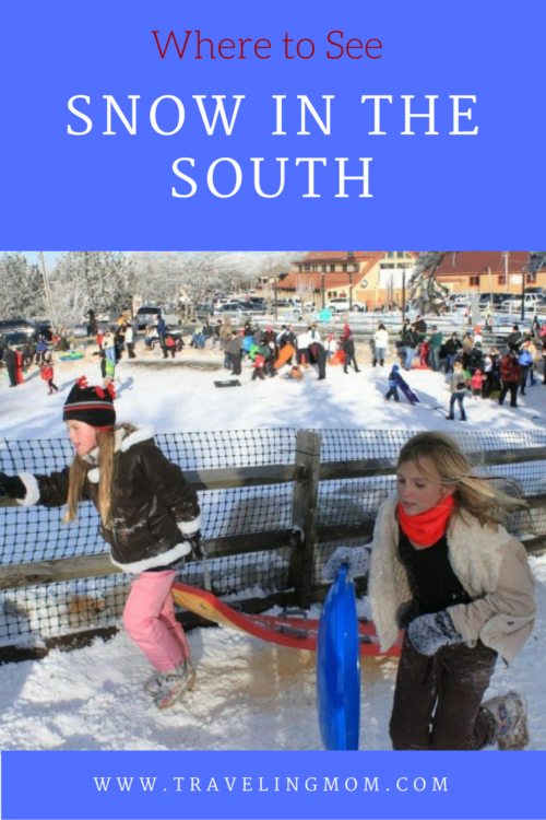 Where to find snow in the South