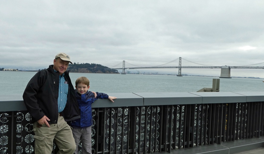 Multigenerational Adventures in San Francisco include a visit to The Exploratorium with magnificent views of the bay.