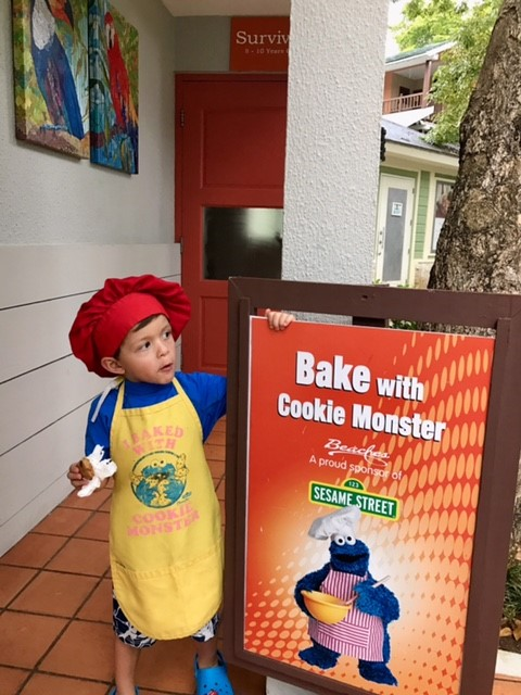 Baking with Cookie Monster VIP Tip Beaches Negril