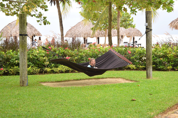 Check out this peaceful hammock at Beaches Negril...