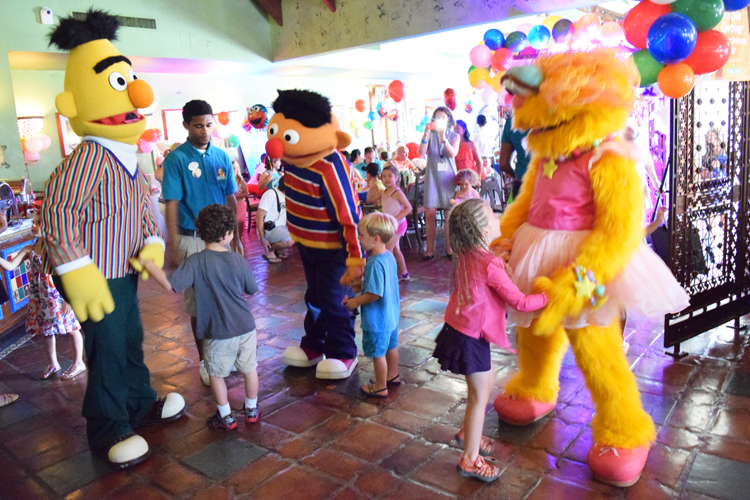 Learn more about the Sesame Street character breakfast Beaches Resorts.
