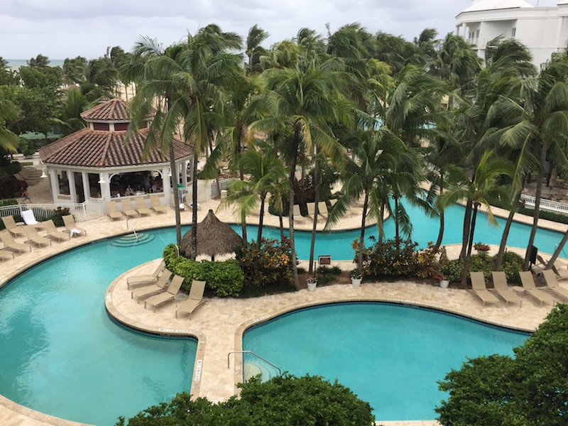The best Florida hotel might be too cold to swim, but the Lago Mar pool in Fort Lauderdale looks lovely