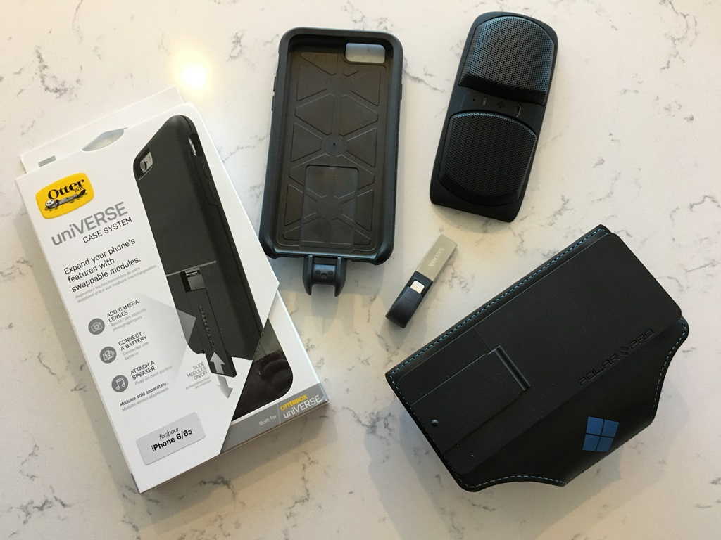 The uniVERSE Otterbox system.