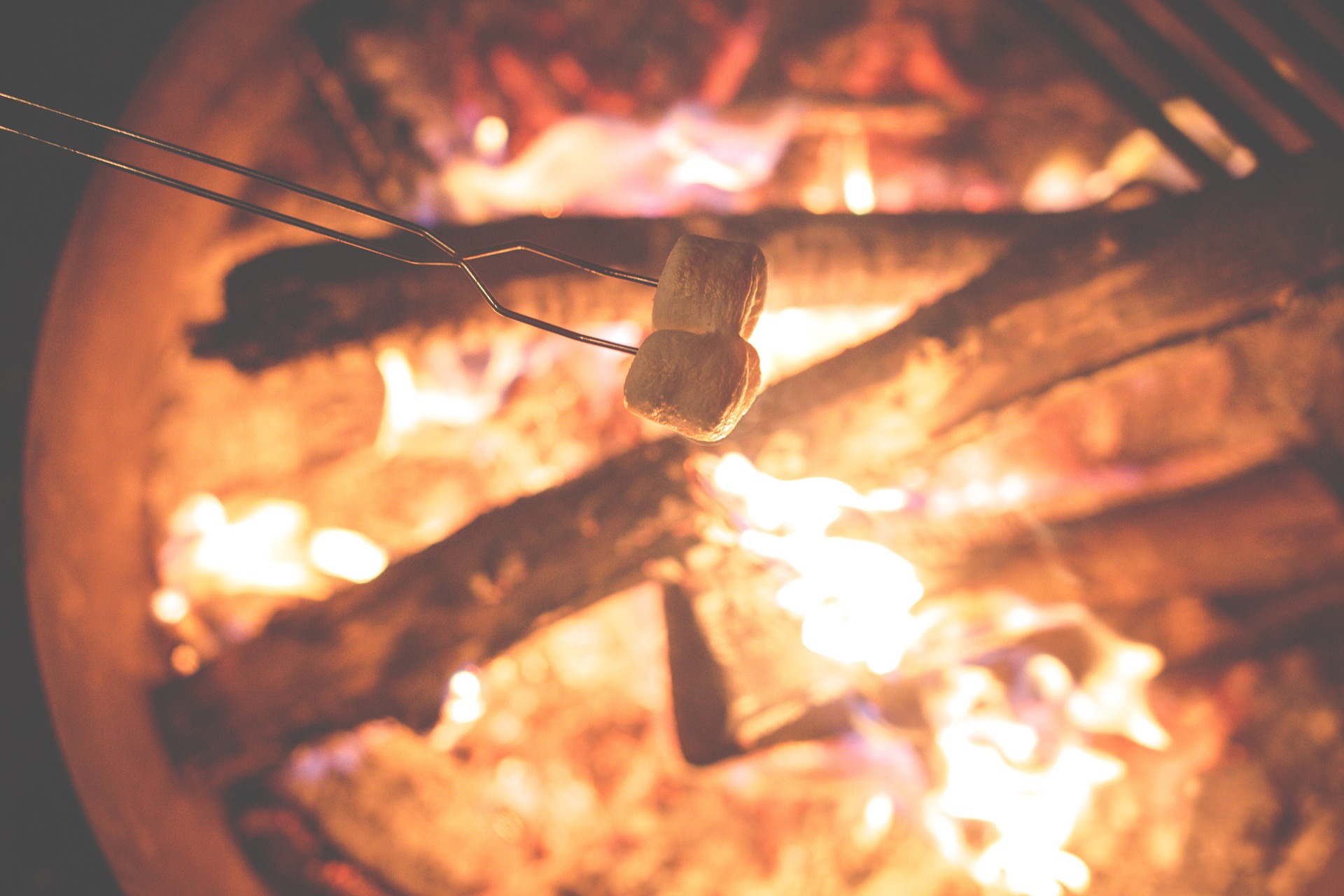 Use a dryer sheet to start a campfire and you'll be roasting marshmallows in no time!
