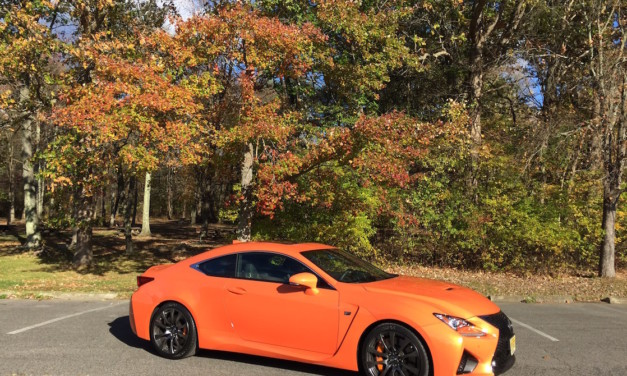 A Short, Fast Drive in Lexus Performance Cars: Fall Foliage