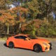 The glorious update New York fall foliage matches the Lexus Performance Cars RS F.