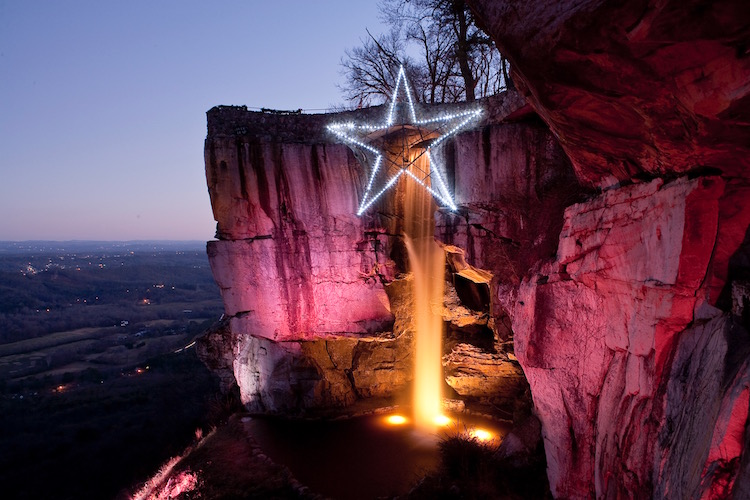 Garden Walk Chattanooga: Holiday Light Displays In The Southeast US