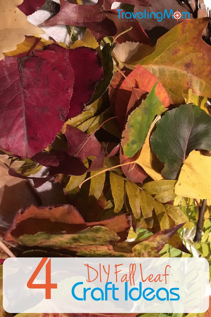 What can do with all of those leaves falling in your yard? Rake them, yes. Or use them to make these four fun fall crafts with your kids. Some of these leaf crafts can be done even by little ones.