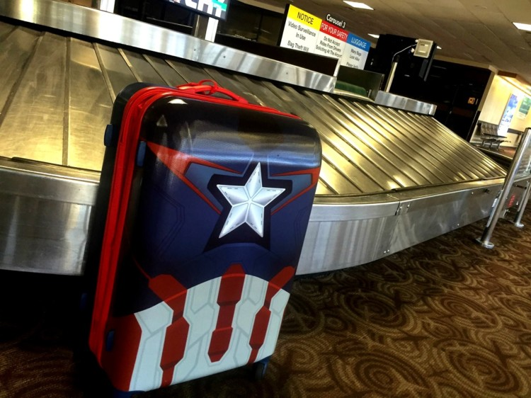 Lost luggage can happen, even when baggage claim isn't crowded.