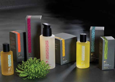 Specially commissioned scents for Mandarin Oriental spas worldwide.