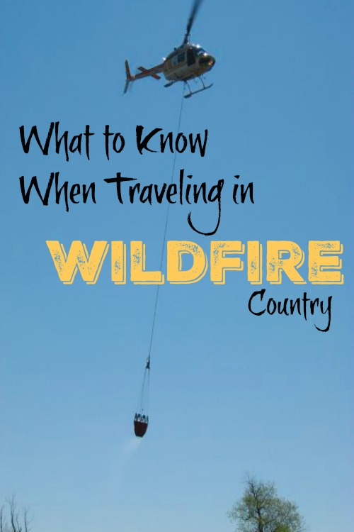 traveling in wildfire country