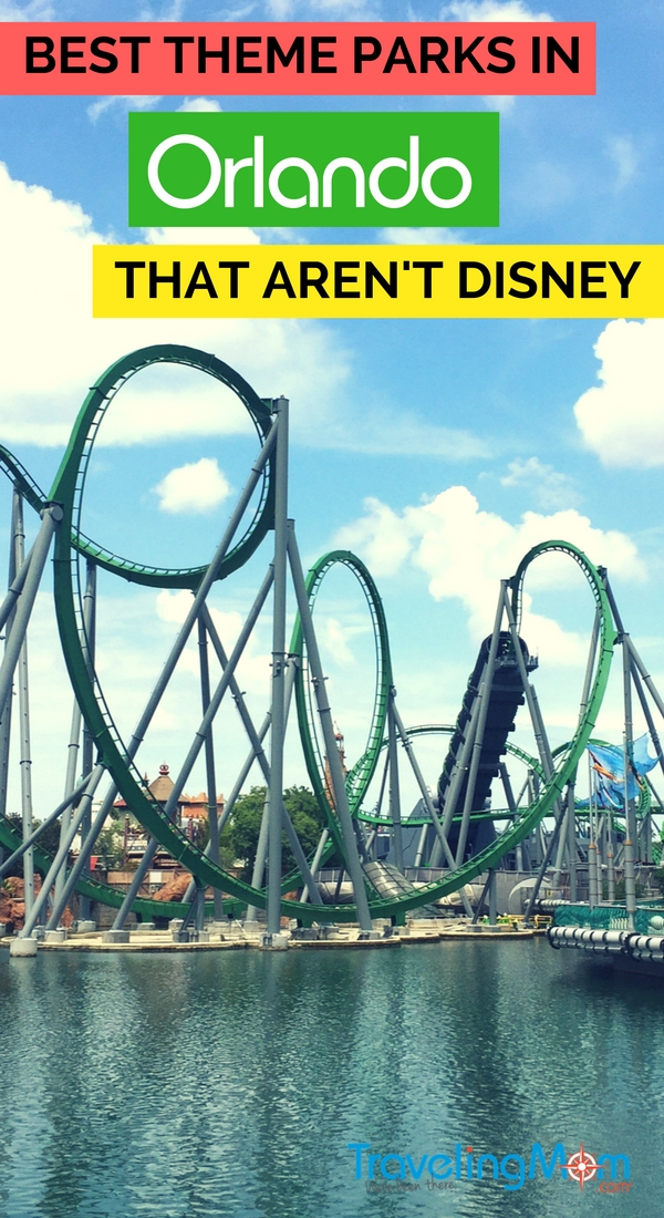 Top Orlando theme parks that aren't Disney: Looking to visit central Florida theme parks other than Walt Disney World? Get tips for travel to classic amusement park favorites like Universal Orlando as well as to more eclectic choices like Gatorland.