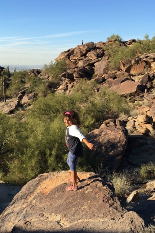 #OptOutside of Black Friday by hiking South Mountain in Tempe, Arizona.