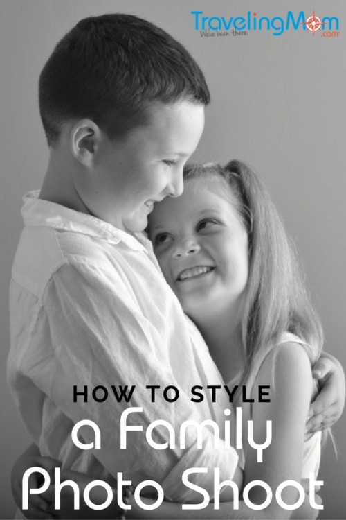 If you're going to the trouble (and expense) of booking a professional photographer while you're on vacation, style your family photo shoot like a pro.