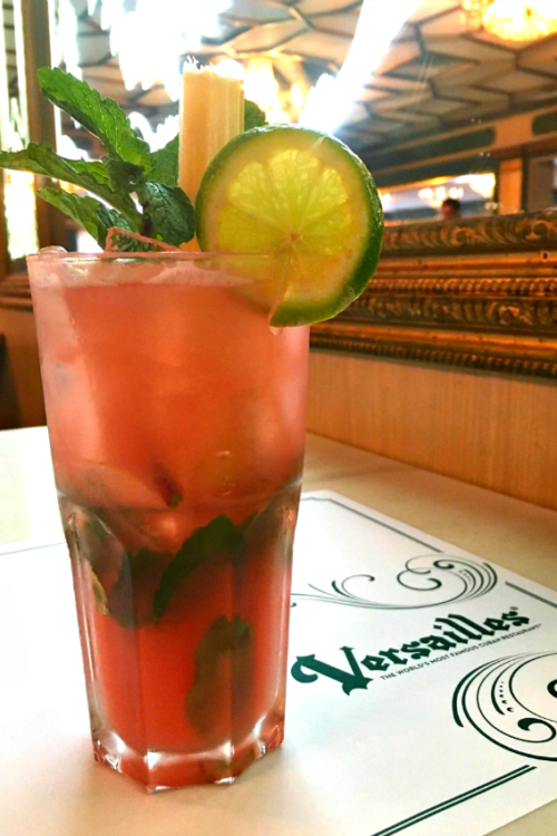Watermelon Mojito Photo ocredit: Versailles Cafe
