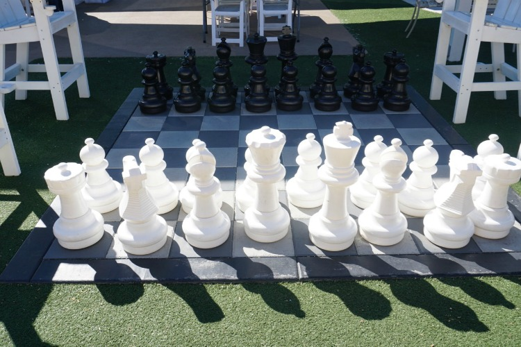 Chess, anyone? Why yes, you can at the Westin Kierland in Scottsdale, Arizona. Photo by Multidimensional TravelingMom, Kristi Mehes.