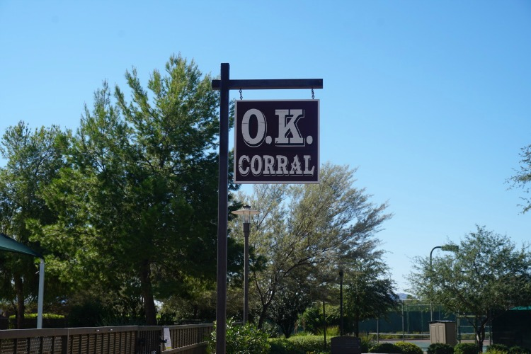 The O.K. Corral is a place where families can go to play games at this family-friendly resort in Arizona. Photo by Multidimensional TravelingMom, Kristi Mehes.