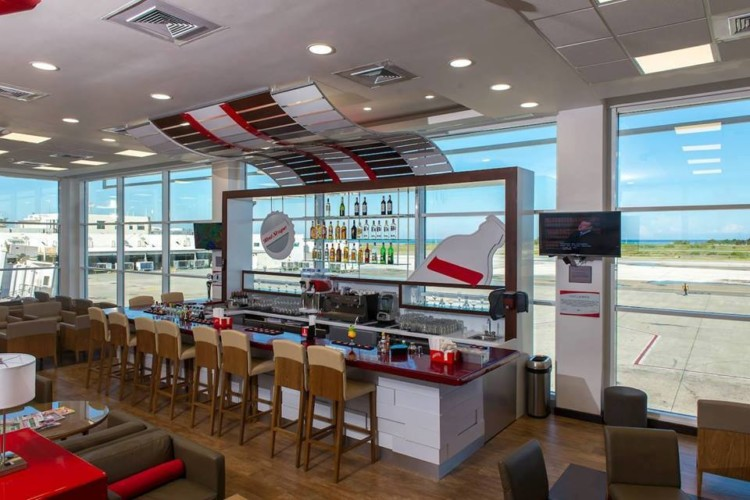 Where to grab a cocktail at Club Mobay at Montego Bay airport. Photo credit Club Mobay.