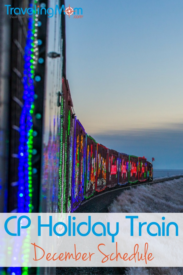 Find out if the CP Holiday Train will be rolling into a train station near you. Here's the December 2016 schedule.