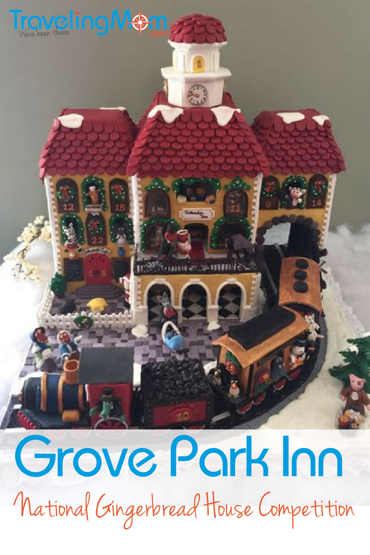 Gingerbread houses are a staple of the Christmas holidays. Find the most impressive gingerbread houses at Grove Park Inn, home of the National Gingerbread competition. And get a recipe for the perfect gingerbread cookie!