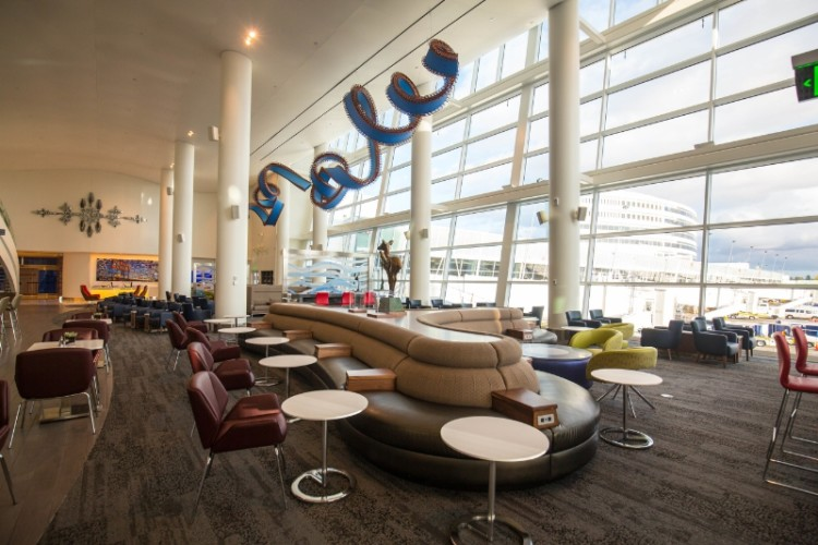 Delta Sky Club in Seattle-Tacoma International Airport Source: PRNewsFoto/Delta Air Lines