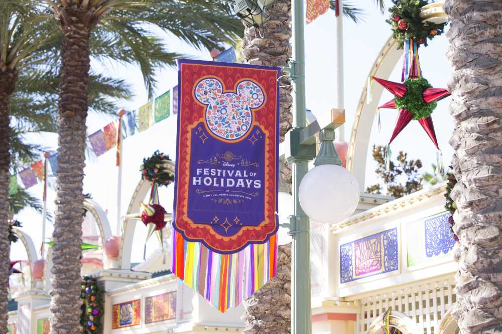 Festival of Holidays at Disneyland Christmas