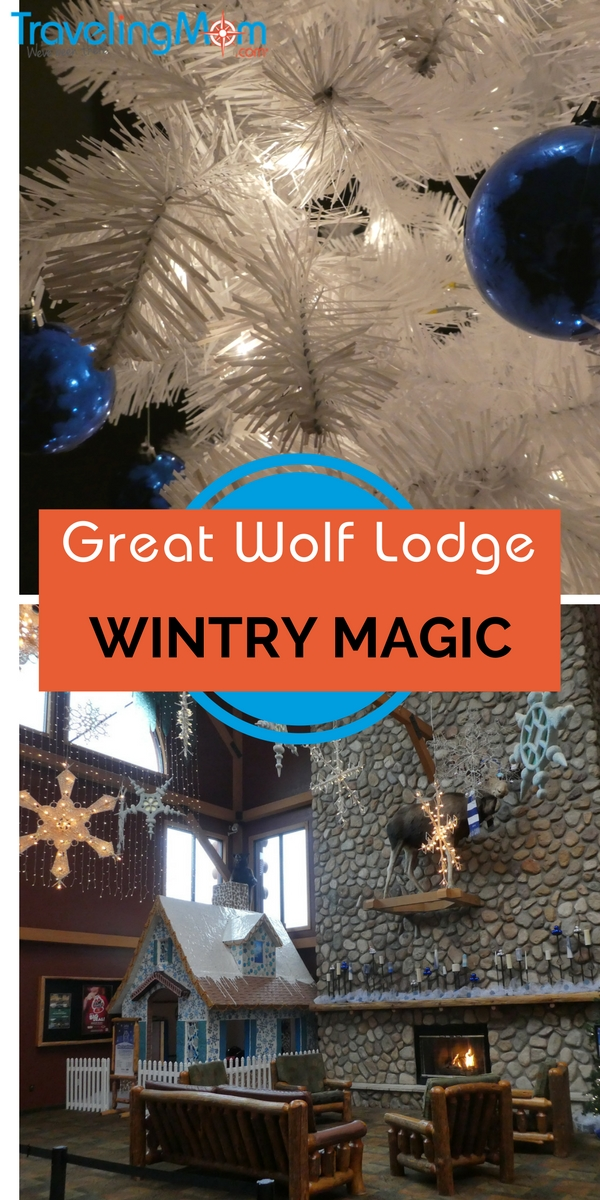 Instead of mountains of gifts this year, head to the Wisconsin Dells to make the holidays special and a little wild! Great Wolf Lodge Howlidays are best!