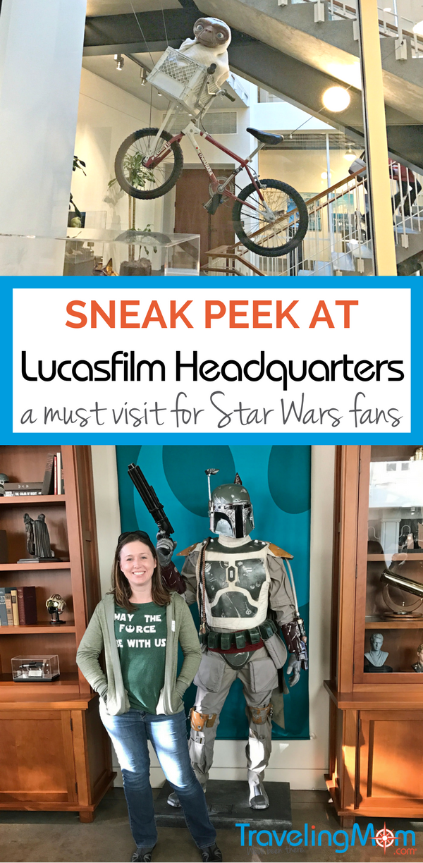 Check out my recent tour of the Lucasfilm Headquarters in San Francisco and learn how everyone can stop by the Yoda statue and lobby.